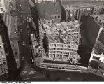 Aerial View of Construction of Circle Tower Building, 1929