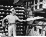 Berek (Benny) Kaplan Working at Old Kraft Bakery