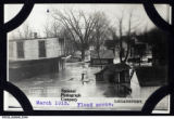 Biddle's Island, Logansport, March 1913