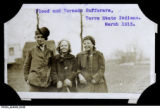Flood and Tornado Sufferers, Terre Haute, March 1913