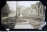 Kentucky Avenue Devastated by Flood, Indianapolis, 1913