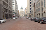 West Market Street Looking Towards the State Capitol from the Monument, 2008