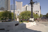 View of Northwest Quadrant of Monument Circle