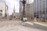 Northeast Quadrant of Monument Circle