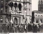 Celebrating Armistice with Germany Nov. 11, 1918