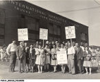 International Harvester Strikers in Fort Wayne