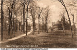 View of Wabash College Campus, early 1900s