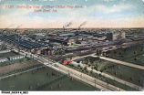 Bird's-Eye View of Oliver Chilled Plow Works, South Bend, Indiana