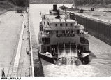 """Delta Queen"" in the Lousiville Canal"