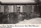 Old Swimming Hole Under Old Red Bridge Near Mooresville, Indiana