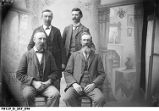 Group portrait of Four Men