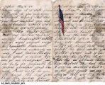 Letter from Isaac Liston to Merica Liston, September 10, 1862
