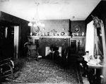 W.H. Bass House, interior, circa 1909 (Bass #17611)