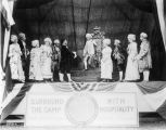 War Camp Community Service Tableaux at State Fairgrounds, 1918 (Bass #63751-F)