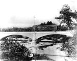 Indianapolis and Northwestern Interurban bridge, 1935 (Bass #230988F)