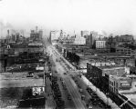 Washington Street looking west,1928 (Bass #207575-F)