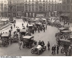 1908 Hoosier Motor Club Meet at Monument Circle