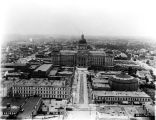 West Market Street and Capitol Building, Cyclorama, 1932(Bass# 224832-F)