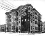 Drexel Arms Apartments, 730 North Delaware Street (no Bass #)