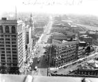 Washington Street looking east,1942 (Bass #103089)
