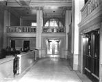 National City Bank, interior, office area, 1922 (Bass #77177-F)