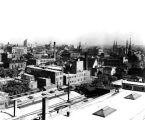 Indianapolis looking northeast,1928 (Bass #209079)
