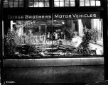 Dodge Brothers showroom window, 1923 (Bass #84472-F)