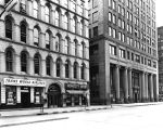 Insurance Building, American Fletcher National Bank, Market Street, 1956 (Bass #292465F)