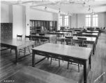 Butler University, Arthur Jordan Memorial Hall, classroom, interior, 1929 (Bass #210349F)
