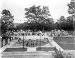 Highland Golf Club, swimming pool, 1925 (Bass #92768F)