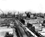 Washington Street looking west,1928 (Bass #209679-F)