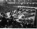 Butler University, Butler (Hinkle) Fieldhouse, interior, 1936 (Bass #234576F)