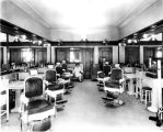 Chamber of Commerce, interior, beauty and barber shop, 1926 (Bass #97706F)