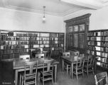 Indianapolis-Marion County Public Library, Rauh Branch, interior, 1929 (Bass #214082-F)