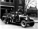 Indianapolis Fire Station #9, Pumper Car #23, 1926 (Bass unnumbered)