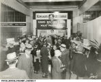 Crowd at Kingan's Meat Products display, 1934 (Bass #228482-F)