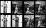 500 Queen, Hoosier Oil, contact sheet, 1980 (no Bass #)