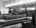 Yard and garden display, view of show, 1934 (Bass #228469-F)