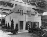 Display House, exterior, 1936 (Bass #234390-F)