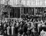 Riley Hospital, cornerstone laying, 1931 (Bass #220501-F)