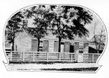 Henry Ward Beecher House, drawing (Bass #224840-F)