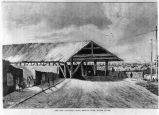 Old National Road Covered Bridge over White River, drawing (Bass #91506)