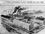 J. T. Polk canning plant, drawing (Bass #306888)
