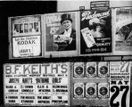 Various advertisements including Kodak, cigarettes, Keith's Grand Opera House, automobile race, 1911