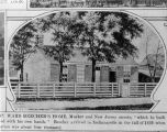 Residence, Henry Ward Beecher Home, drawing (Bass #224840-F)