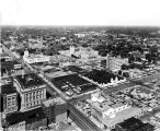 Indianapolis downtown, looking northeast,1962 (Bass #309595-5)