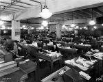 Lane Bryant Co., interior, women office workers, 1945 (Bass #264351-F)