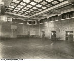 Basketball court, interior 1923 (Bass #84265-F)