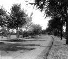Riverside Park, road beside golf course, 1920 (Bass #71747-F)