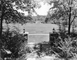 Estate of Nicholas H. Noyes, view of grounds, 1935 (Bass #231627-F)